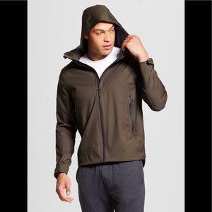 Big & Tall Waterproof, breathable rain jacket NWT